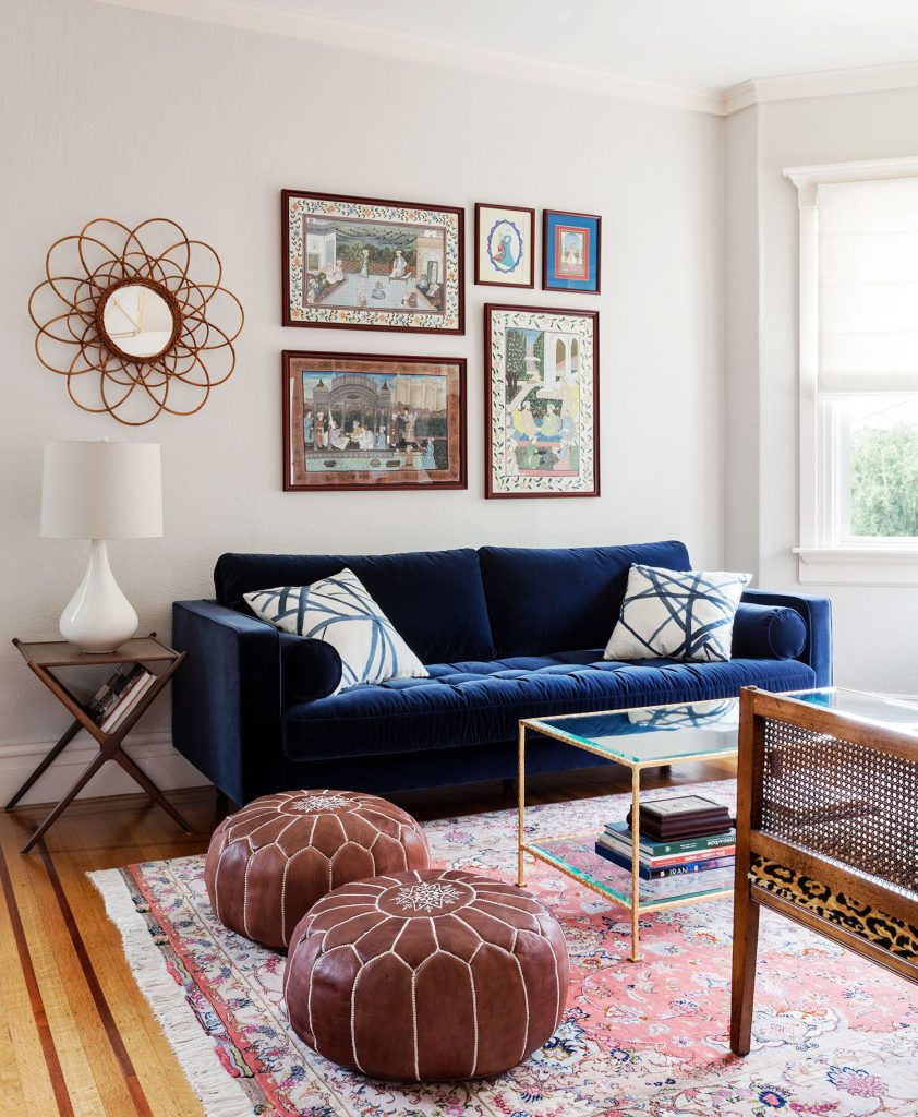 Navy Blue Couch Living Room Design Ideas Novocom Top